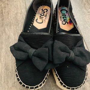 Shoes - Cute Black Espadrilles size 7.5